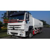 Buy cheap Sinotruk 16m3 Capacity Radial Tyre Fuel Oil Transportation Trucks 6X4 LHD Euro 2 336HP Lengthened Cab from wholesalers