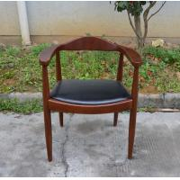 Replica Hans Wegner Wishbone Chair Throne Chairs with Leather Seats/Chairs Restaurant Seat Upholestered Ratten