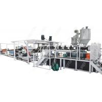 Buy cheap Thermoforming Packaging Plastic Sheet Extrusion Line 160 Kw Stable Running from wholesalers
