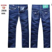 Buy cheap True Religion New Style Men's Blue Wash Straight Jeans 2608 from wholesalers