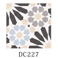 Buy cheap Multicolor Decorative Ceramic Floor Tile 8.5mm Thinckness With Difference Pattern product