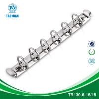Buy cheap 5 inches length 3/5 inner diameter 6 ring mechanism, stationery file clip from wholesalers