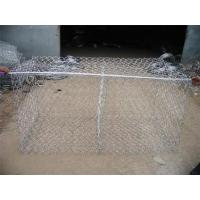 Economical Gabion Stone Cages , Corrosion Resistant Rock Basket Retaining Wall