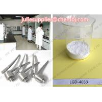 Buy cheap No Side Effect Novel Non-Steroidal LGD-4033 Oral SARM Powder Pharmaceutical Raw Materials CAS 1165910-22-4 Best Supplier from wholesalers