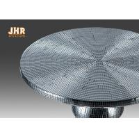 Buy cheap Two Size Glass Fiberglass Furniture Pedestal Plant Stand Round End Table product
