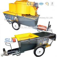 Buy cheap 4m3 / H Mortar Spraying Machine Exterior Wall Plastering Pumping Delivery 30m For Building from wholesalers