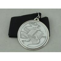 Aluminum Piece Inserted Die Cast Medals , Nickel Plating