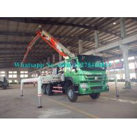 Buy cheap Zoomlion Sany 34m Placing Depth Truck Mounted Concrete Pump 34X-4Z with Output of 120m³/h Construction Equipment from wholesalers
