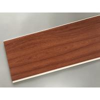 Buy cheap Eco Friendly PVC Wood Plastic Laminate Panels Flat Shape 250 × 8mm × 5.95m from wholesalers