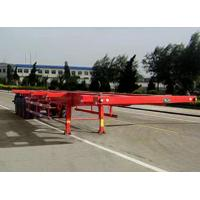 China CLWOlder than 14.9 m 30.5 t 3 axis container car transport trailer HMV9381TJZ008 on sale