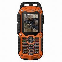 Buy cheap IP67 Waterproof Rugged Quad-band GSM Mobile Phone with Dual-SIM Card from wholesalers