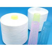 Buy cheap Raw White Plastic Cone Spun Polyester Yarn Ring Spinning / Two-For-One Technics from wholesalers