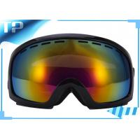 Buy cheap Safety Photochromic Black OTG Ski Goggle Anti - Scratch Dual Lens from wholesalers