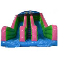 Buy cheap Fashional Bounce House With Water Slide Baby Activity Commercial Bounce House Water Slide from wholesalers