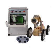 Buy cheap Remote Control Sewer Pipe Inspection Robot With High Resolution Camera from wholesalers