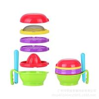 Buy cheap Non Toxic Toddler Tableware Sets Phthalate Free HEAT RESISTANT Easy To Clean from wholesalers