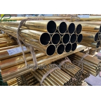 Buy cheap ASTM B111 / B111M C44300 Admiralty Brass Tubes from wholesalers