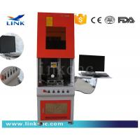 Buy cheap CNC Mobile Watch Phones Fiber Laser Marking Machine 20KHz ~ 100KHz product
