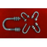 Buy cheap Hot Dip Galvanized Bolts And Nuts , Stainless Steel U Bolt / Stud / Screw from wholesalers