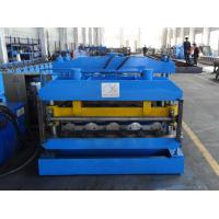 Buy cheap 0.3-0.8mm Tile Profile Metal Roofing Roll Forming Machine from wholesalers