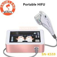 Buy cheap Best Result Portable HIFU Face Lift Skin Tightening Anti Aging Wrinkle Removal Machine from wholesalers