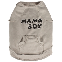 Buy cheap Beige T Shirt 100% Cotton Dog Clothes from wholesalers