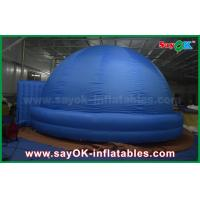 Buy cheap Logo Print Blue Digital Inflatable Planetarium Dome Tent For School 4m - 15m from wholesalers