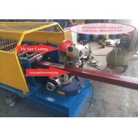 Buy cheap Aluminium Steel Downspout Roll Forming Machine , Rain Gutter Machine For Construction from wholesalers