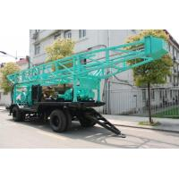 Buy cheap High Speed Water Drilling Rig With Turnplate Rotary 11.6m Height Drill Tower from wholesalers