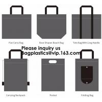 Buy cheap Flet Carry Bag, Boat Shapen Beach Bag, Tote Bag With Long Handle, Carrying Backpack, Pocket, Folding Bag, Bagease, Bagpl from wholesalers
