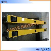 Buy cheap 3 Phase 380V 50HZ Crane End Carriage / End Beam With Independently Driven 18m/min from wholesalers