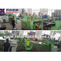 Buy cheap ZJX 4X1250 Hydraulic Slitting Line Machine For Hot Rolled Steel and Pipe from wholesalers