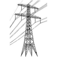 Buy cheap 4 Legged Lattice Steel Tower Hot Dip Galvanized Steel Electric Transmission Tower from wholesalers