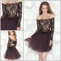 Buy cheap Short Evening Dresses with Long Sleeve from wholesalers