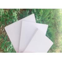 Buy cheap High Strength White Rigid PVC Foam Board Corrosion Resistance For Exhibits Booths from wholesalers