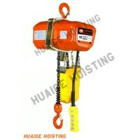 Electric Chain Hoist With Hook: HHXG Electric Chain Hoist (Hook Type)