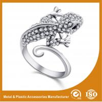 Buy cheap 304 Stainless Steel Ladies Fashion Rings For Anniversary / Gift from wholesalers