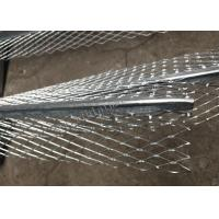Buy cheap 7cm Construction Galvanized Plaster Angle Bead Strong Corner Reinforcement 3m Length from wholesalers