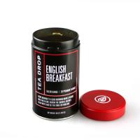 Buy cheap Vintage Round Tea Tin Can with Screw Top product