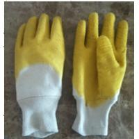 Quality Industiral working latex coated gloves for sale