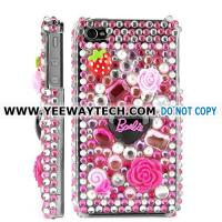Buy cheap Cute Diamond Rhinestone Bling Hard Case for iPhone 4 / 4S (Pink) from wholesalers
