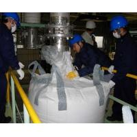 Flexible industrial Minerals PP bulk bags , factory Tubular tonne bags with Cross Corner loops