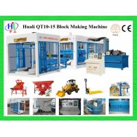 Buy cheap QT10-15 hydraulic block making machine from wholesalers