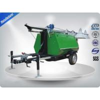 Buy cheap Portable LED Light Towers / Telescoping Mast Trailer Mounted Light Towers from wholesalers