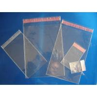 Buy cheap Flexible Clear Plastic Pouches Packaging Leakproof With Self Adhesive Strip from wholesalers
