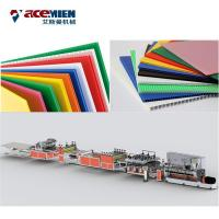 Buy cheap Sheet Extrusion Grid Board Production Line Plastic Plate Making Machine Hollowness from wholesalers