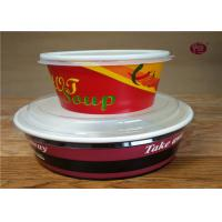 Buy cheap Christmas Disposable Biodegradable Soup Containers / Bowls 380ml - 1100ml from wholesalers