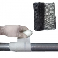 China water activated fiberglass fix tape pipe repair bandage for pipes cables leaks on sale
