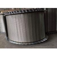 Stainless Steel Furnace Conveyor Belt With Roller Chain Anti Corrosion
