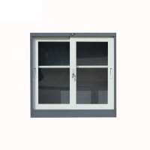 Buy cheap 2 Sliding Door  Vertical Metal Bookshelf Fireproof Filing Cabinet from wholesalers